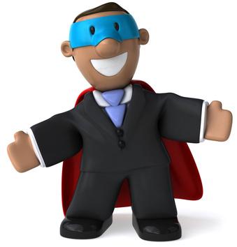 Businessman figurine