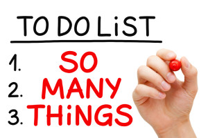 Too Many Things to Do List