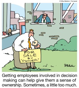 Employee Empowerment Cartoon