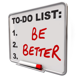 To Do List - Be Better