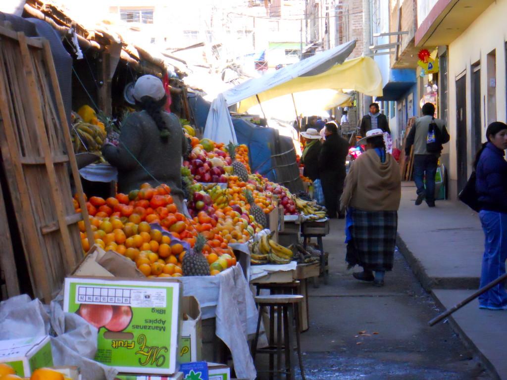 Local Market Julica Peru